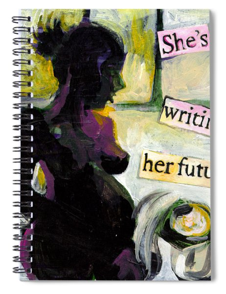 Pregnant Madonna Spiral Notebook