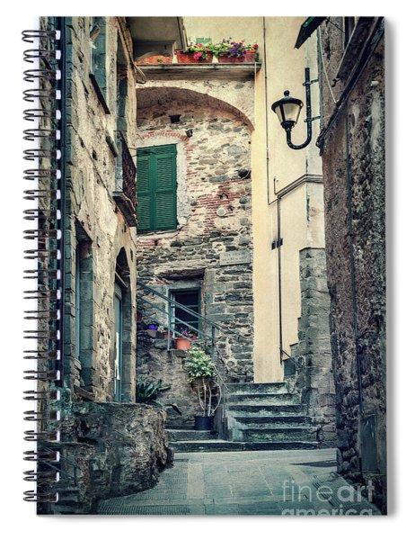 Present Past Spiral Notebook