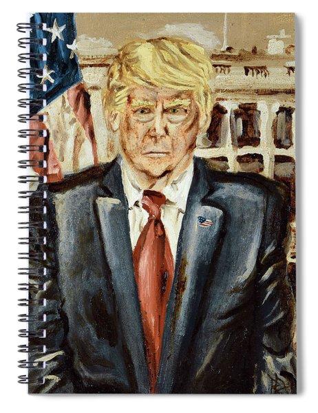President Donald Trump Spiral Notebook