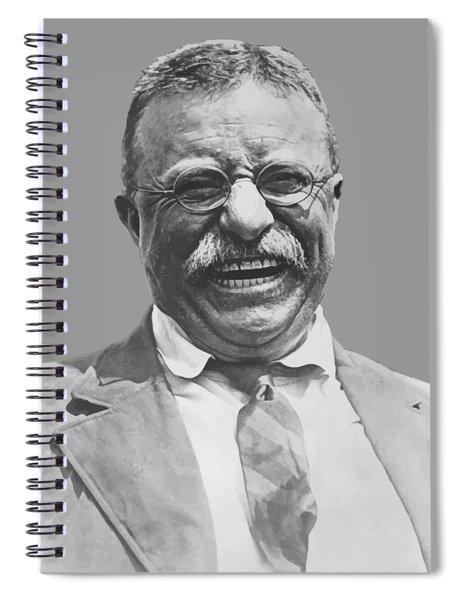 President Teddy Roosevelt Spiral Notebook
