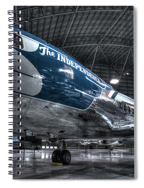 Presidential Aircraft - Douglas Vc-118 The Independence  Spiral Notebook