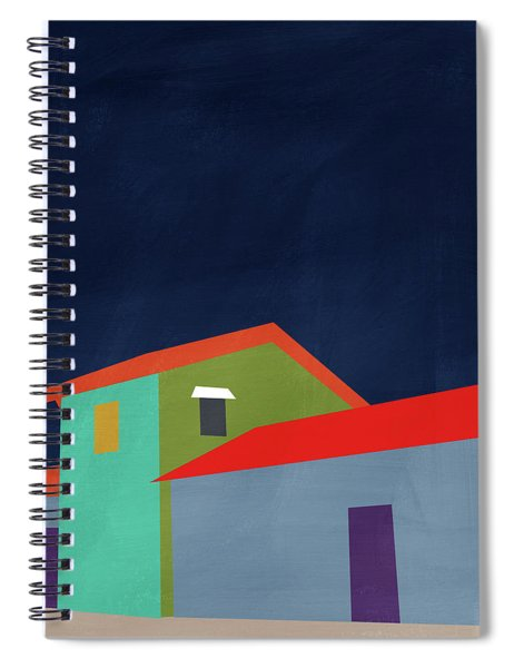 Presidio- Art By Linda Woods Spiral Notebook