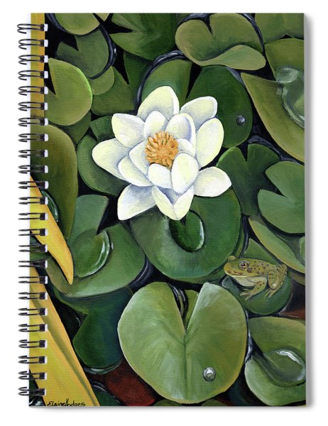 Presli's Pond Spiral Notebook