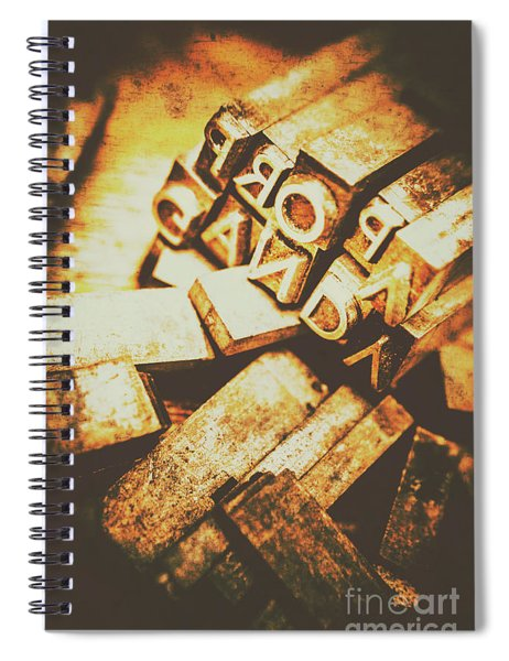 Pressing The Hegelian Dialectic   Spiral Notebook