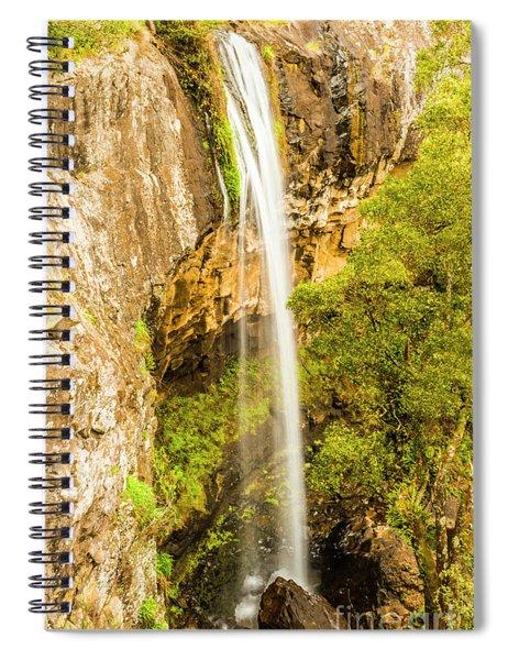 Preston Falls Tasmania Spiral Notebook