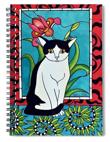Pretty Me In Tuxedo Spiral Notebook