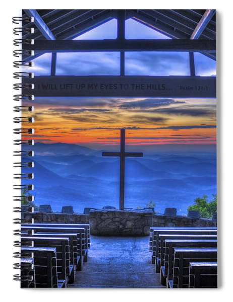 Pretty Place Chapel Sunrise 777  Spiral Notebook