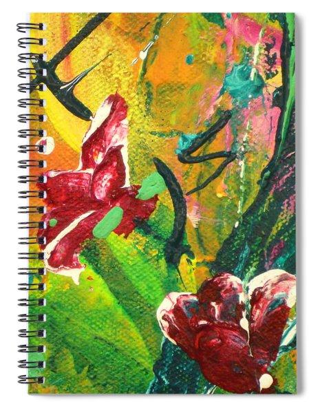 Pretty Posies Spiral Notebook