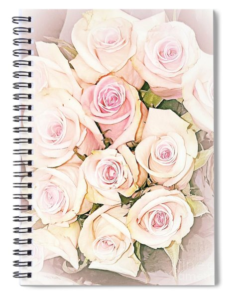 Pretty Roses Spiral Notebook