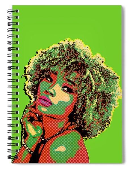 Pretty Woman II Pop Art Spiral Notebook