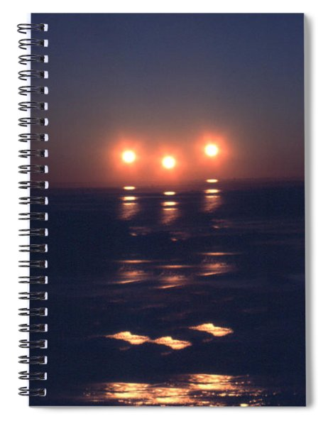 Preventing Sunset Spiral Notebook