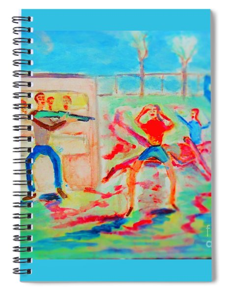Prevention Of Shootings Memorial Spiral Notebook