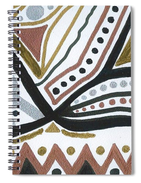 Primitive Exploration Spiral Notebook