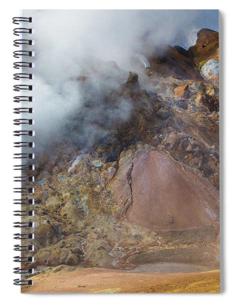 Primordial Kerlingarfjoll Spiral Notebook by Inge Johnsson