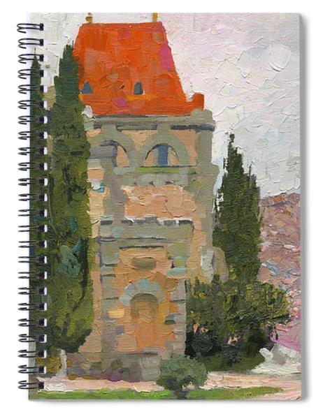 Prince Gagarin's Castle  Spiral Notebook