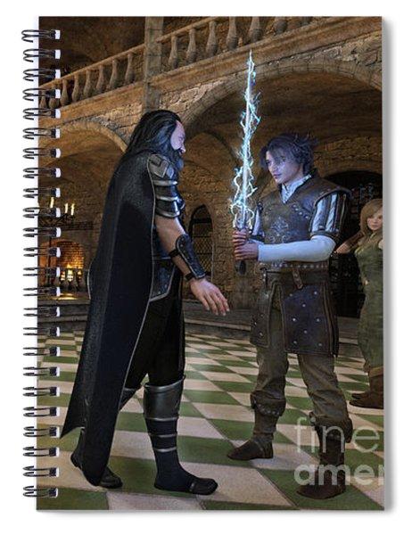 The Orphan's Revenge Spiral Notebook