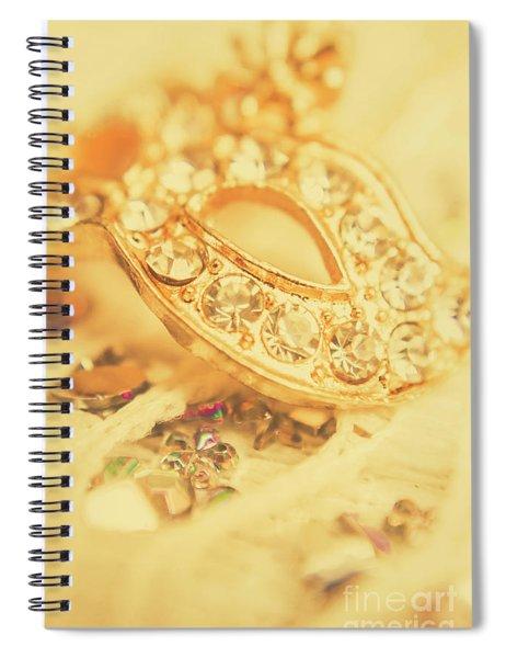 Princess Pendant Spiral Notebook