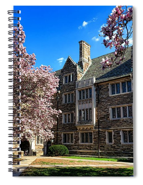 Princeton University Pyne Hall Courtyard Spiral Notebook