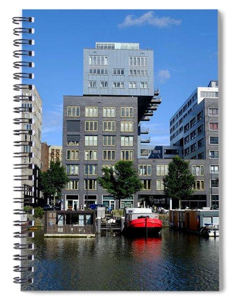 Prinseneiland Amsterdam Spiral Notebook