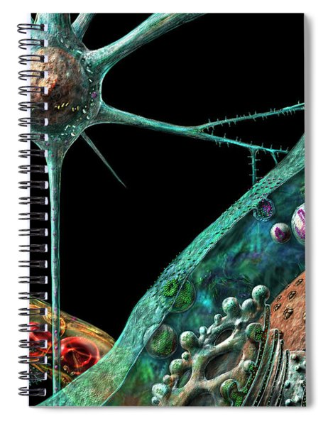 Prions Spiral Notebook