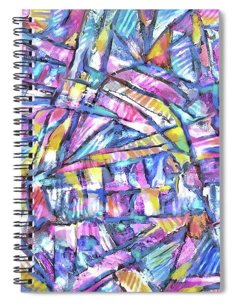 Prism Light Spiral Notebook