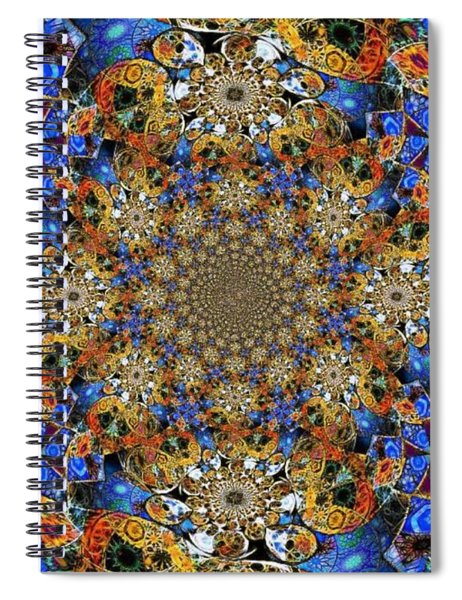 Prismatic Glasswork Spiral Notebook