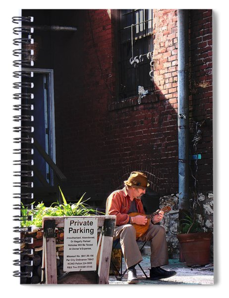 Private Parking Spiral Notebook