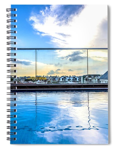 Private Pool Spiral Notebook