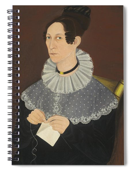 Probably Sarah Cook Arnold Knitting Spiral Notebook