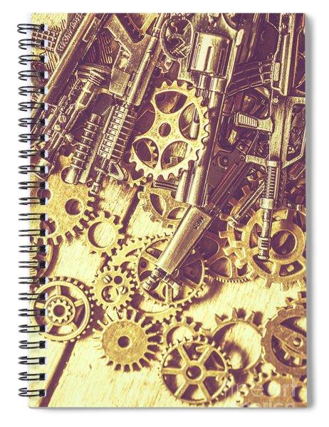 Process Of Strategic Battle Spiral Notebook