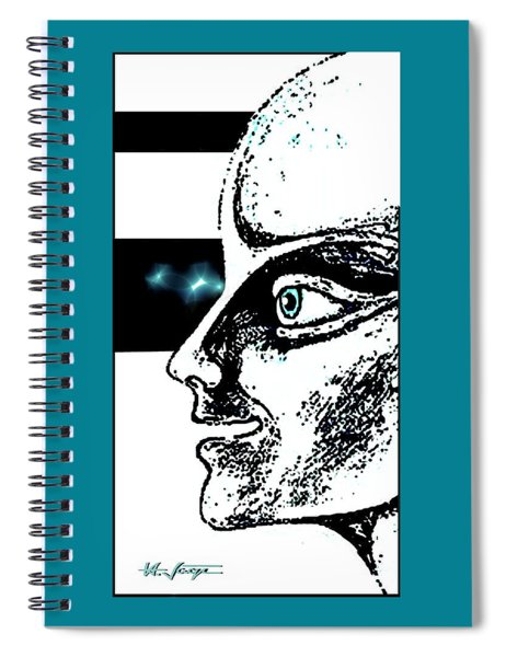 Profile Of  A. . . ?  Spiral Notebook