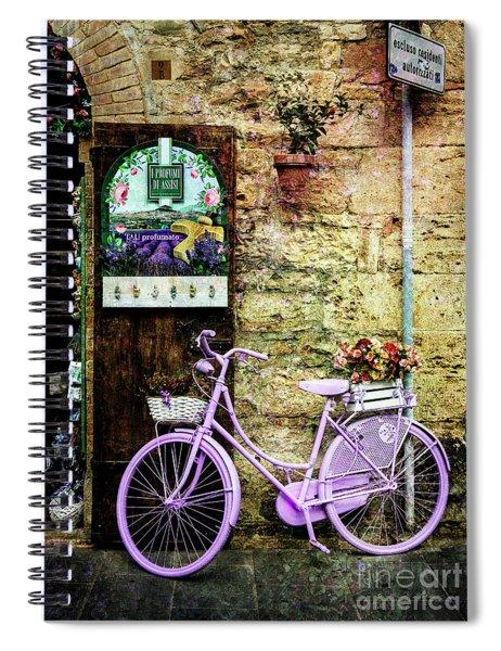 Profumato Bicycle Spiral Notebook