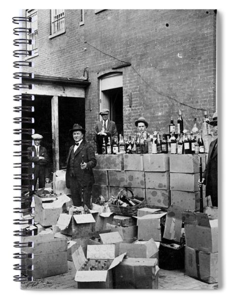 Prohibition, 1922 Spiral Notebook