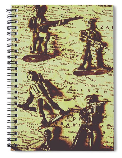 Project For The New American Century Spiral Notebook