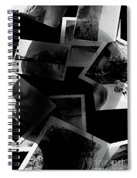 Projections From Mkultra Spiral Notebook