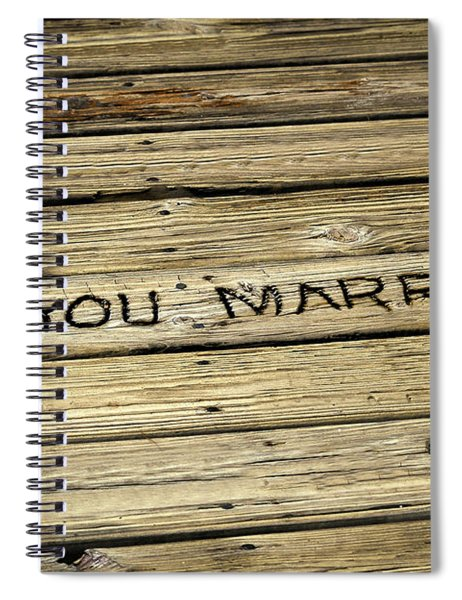 Propose To Me Spiral Notebook