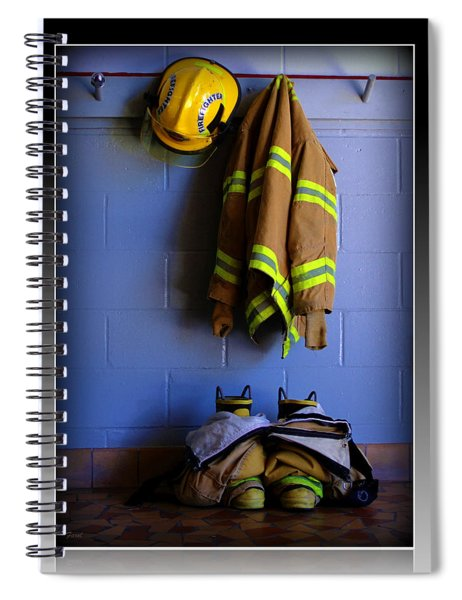 Protect And Serve Spiral Notebook