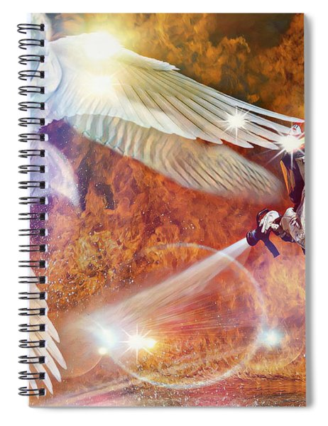 Protect Our Firefighters Spiral Notebook