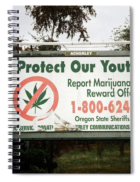 Protect Our Youth Spiral Notebook