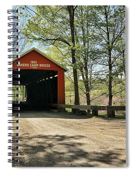 Spiral Notebook featuring the photograph Protected Crossing In Spring by Andrea Platt