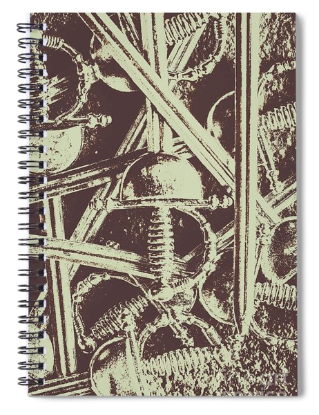 Protecting The Iron Gate Spiral Notebook