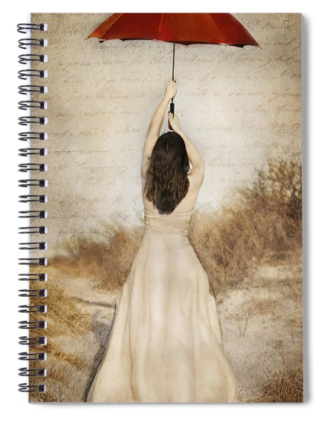 Protection Painted Lady Spiral Notebook