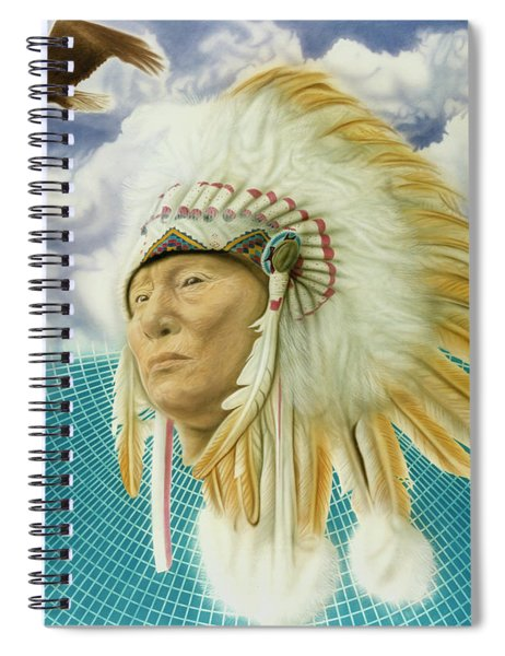 Proud As An Eagle Spiral Notebook