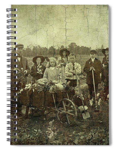 Proud Harvest Spiral Notebook
