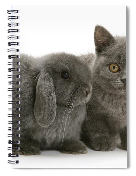 Proud Of My Grey Hare Spiral Notebook