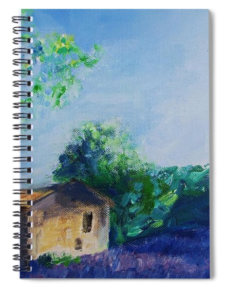 Provence House Spiral Notebook
