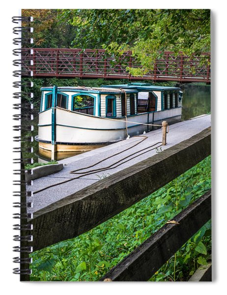 Providence Metropark Erie Canal  Spiral Notebook