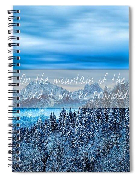Provision Spiral Notebook
