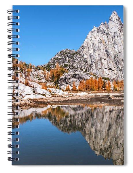 Prusik Peak Reflected In Gnome Tarn Spiral Notebook