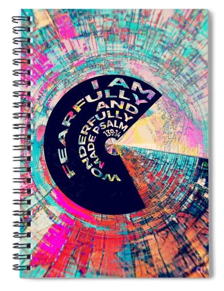 Psalm 139 Spiral Notebook